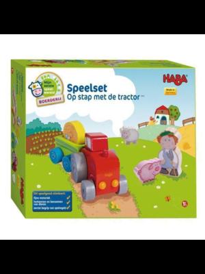 Haba Speelset - Op stap met de tractor