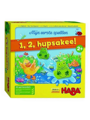 Haba Spel - 1, 2, Hupsakee - Incl. Nederlandse omschrijving - 2+