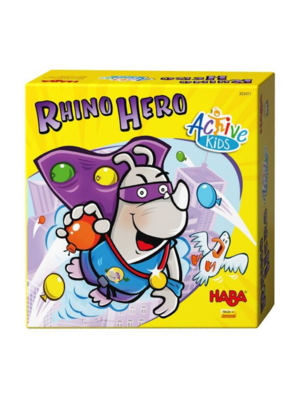Haba Spel - Active kids - Rhino hero - 3+