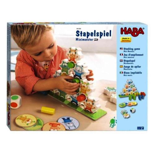 Haba Spel - Stapelspel - Minimonsters