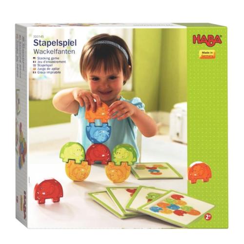 Haba Spel - Stapelspel - Waggelfanten