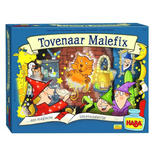 Haba Spel - Tovenaar Malefix - 5+*