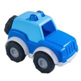 Auto - Politie - Voor binnen en buiten - 8x13cm