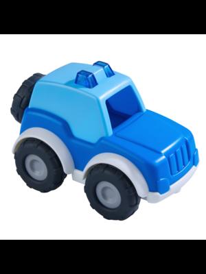Haba Auto - Politie - Voor binnen en buiten - 8x13cm