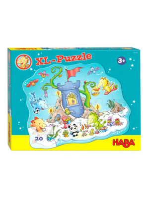 Haba Puzzel - Draak fonkelvuur - Puzzelparty - 37x45cm - 20st.