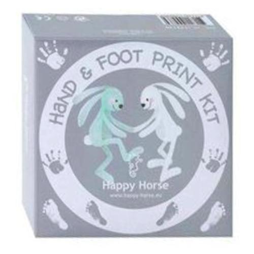 Happy horse Konijn - Richie - Hand- & voetprint set