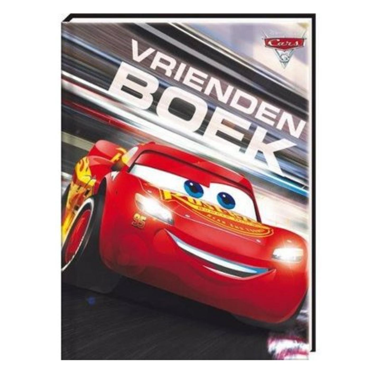 Boek - Vriendenboekje - Cars 3 - in Dagboeken & Vriendenboekjes