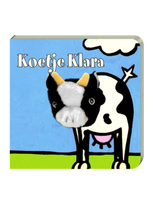 Imagebooks Boek - Vingerpopboek - Koetje Klara