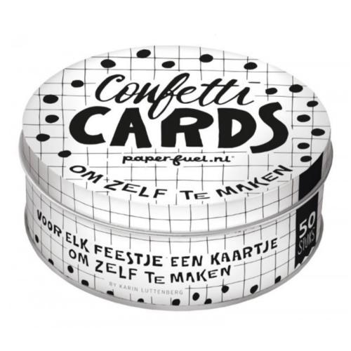 Imagebooks Confetti cards - Zelfmaakcadeaukaartjes - 50st.