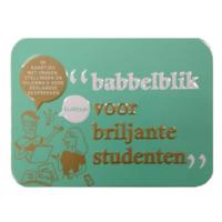 Spel - Babbelblik voor briljante studenten