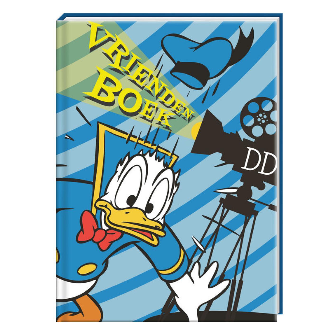 Boek - Vriendenboekje - Donald Duck