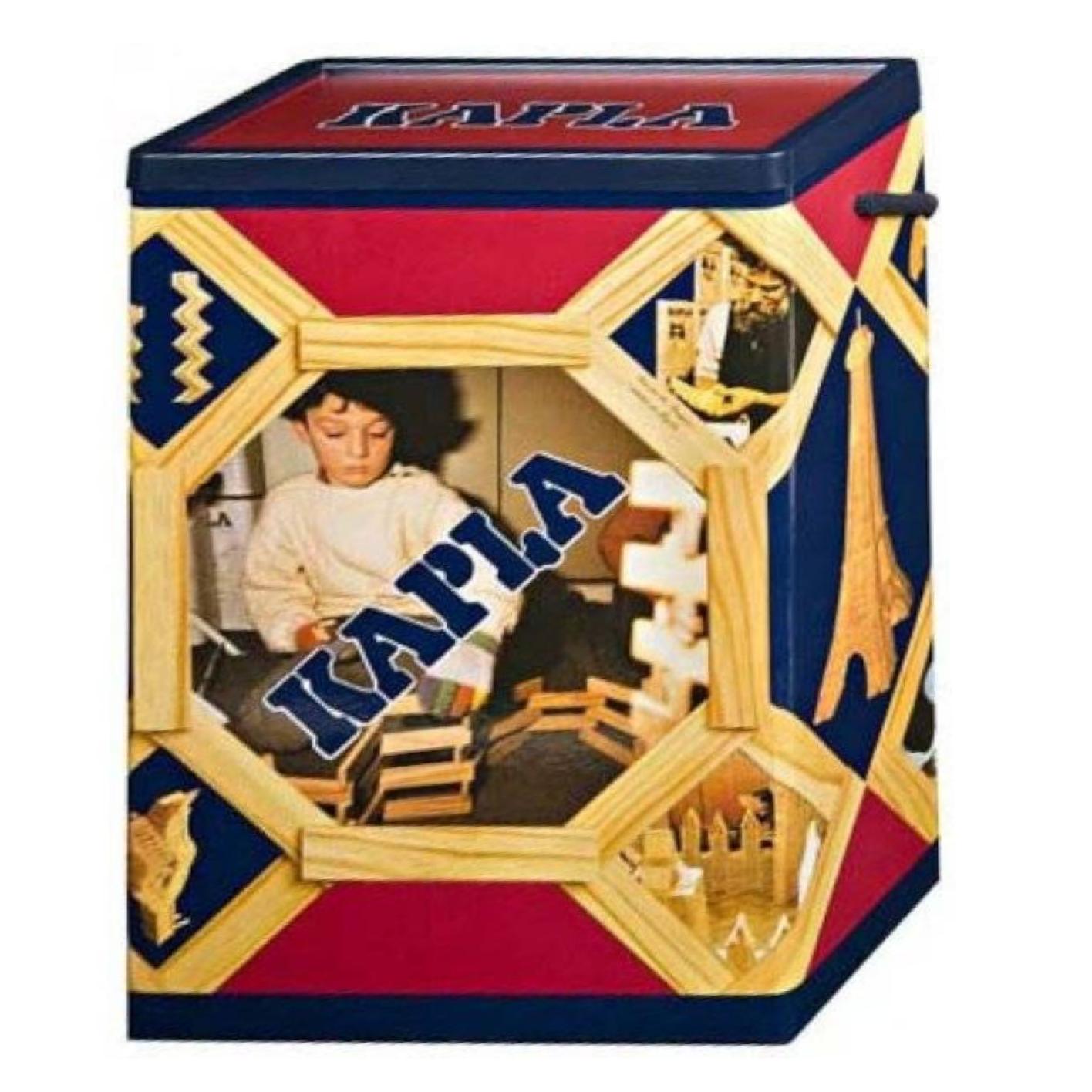Plankjes - Kapla - Blank - 200st. - In doos