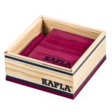 Plankjes - Kapla - Pruim rood - 40st.