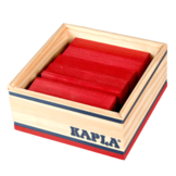 Plankjes - Kapla - Rood - 40st.