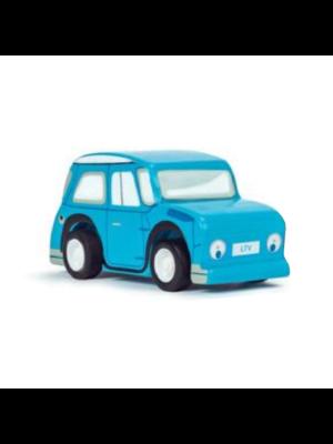 Le Toy Van Auto - Pullback - Mini - Hout - 1 stuks - Willekeurig geleverd