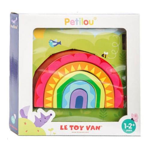 Le Toy Van Blokken - Regenboog - Hout