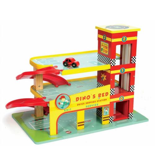 Le Toy Van Garage - Dino's