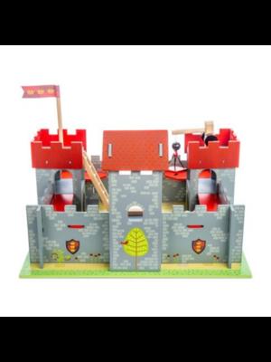 Le Toy Van Poppenhuis - Kasteel Camelot - Rood