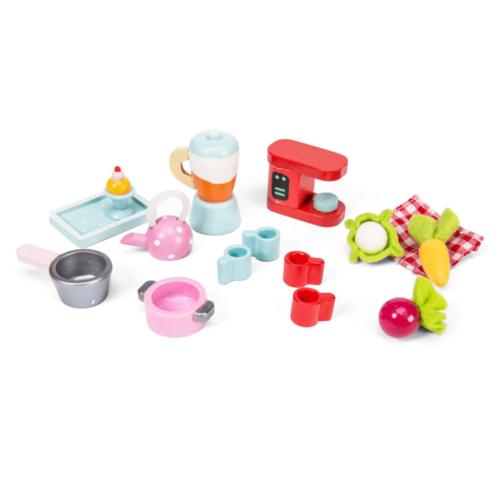 Le Toy Van Poppenhuis accessoires - Keukenset