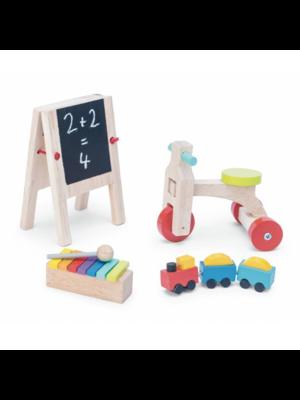 Le Toy Van Poppenhuis accessoires - Speelgoed - Hout