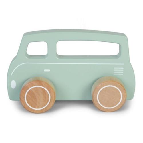 Little Dutch Auto - Bus - Blauw - Little Dutch