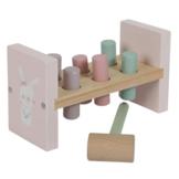 Hamerbank - Roze - in Houten Speelgoed