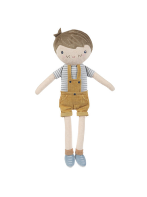 Little Dutch Pop - Knuffelpop - Jim - Blauw - 35cm