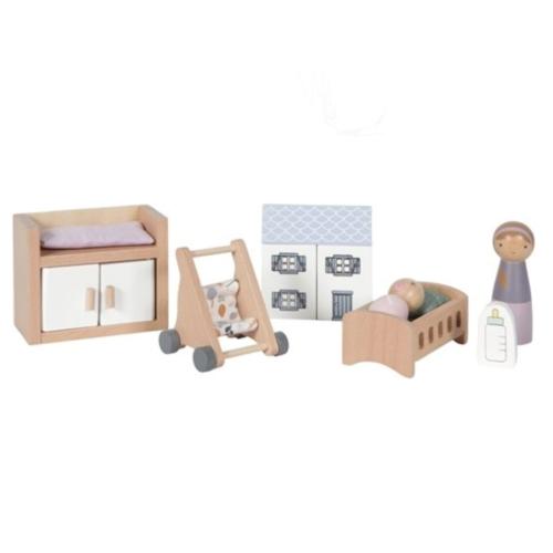 Little Dutch Poppenhuis accessoires - Babykamer