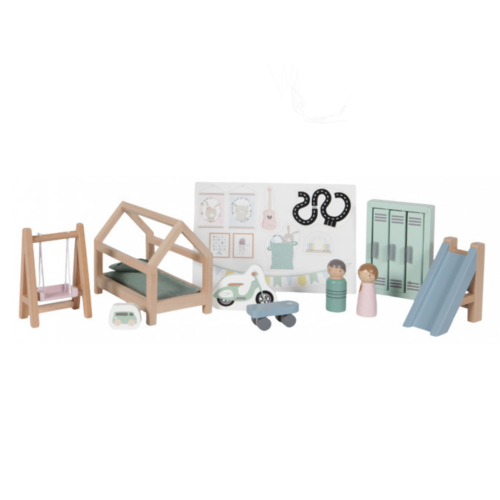 Little Dutch Poppenhuis accessoires - Kinderkamer