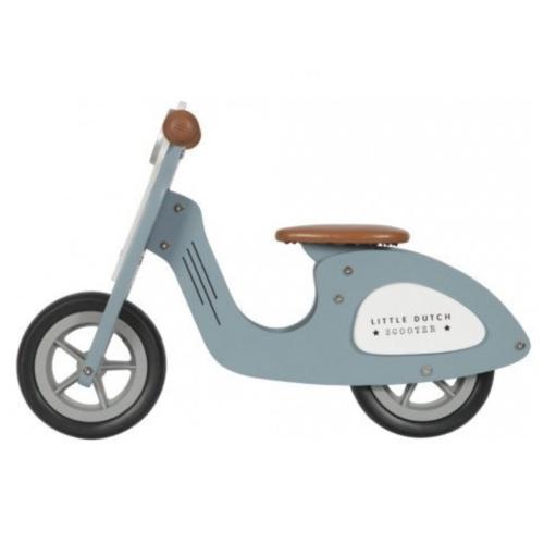 Little Dutch Tweewieler - Scooter - Blauw - 2+