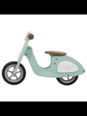 Little Dutch Tweewieler - Scooter - Mint - 2+