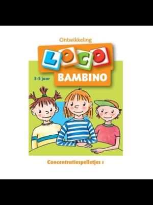 Loco Leerspellen Loco Bambino - Concentratiespelletjes - 3/5 Jaar