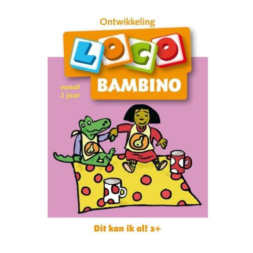 Loco Leerspellen Loco Bambino - Dit kan ik al! 2+ - Vanaf 2 Jaar