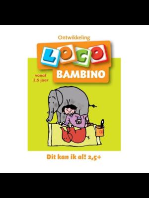 Loco Leerspellen Loco Bambino - Dit kan ik al! 2,5+ - Vanaf 2,5 Jaar