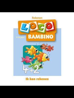 Loco Leerspellen Loco Bambino - Ik kan rekenen - 4 Tot 6 jaar