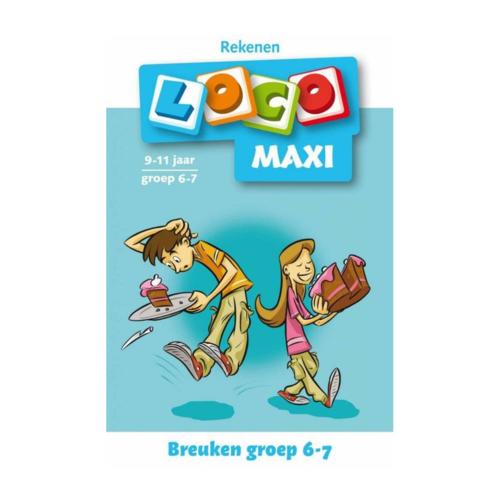 Loco Leerspellen Loco Maxi - Breuken - 9/11 Jaar - Groep 6/7