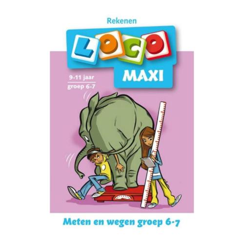 Loco Leerspellen Loco Maxi - Meten & wegen - 6/7 Jaar