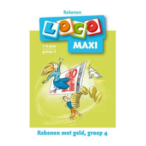 Loco Leerspellen Loco Maxi - Rekenen met geld - 7/8 Jaar - Groep 4
