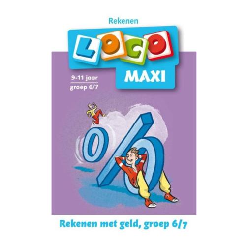 Loco Leerspellen Loco Maxi - Rekenen met geld - 9/10 Jaar - Groep 6/7