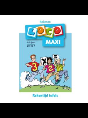 Loco Leerspellen Loco Maxi - Rekentijd, tafels - 7/9 Jaar - Groep 4