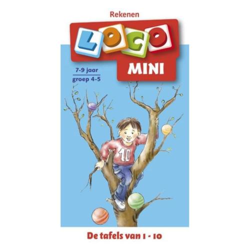 Loco Leerspellen Loco Mini - De tafels van 1 tot 10