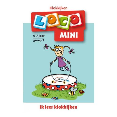Loco Leerspellen Loco Mini - Ik leer klokkijken