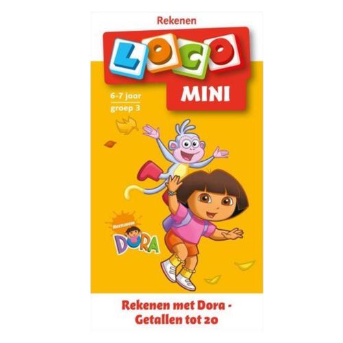 Loco Leerspellen Loco Mini - Rekenen met Dora