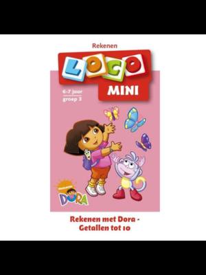 Loco Leerspellen Loco Mini - Rekenen met Dora - Getallen tot 10
