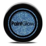 Glitters - Blauw - Fluor neon