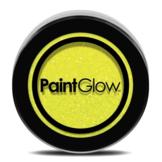 Glitters - Geel - Fluor neon