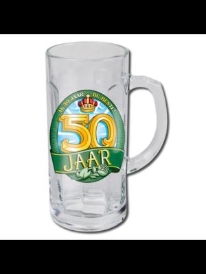 Paperdreams Bierglas - Bierpul - 50 Jaar