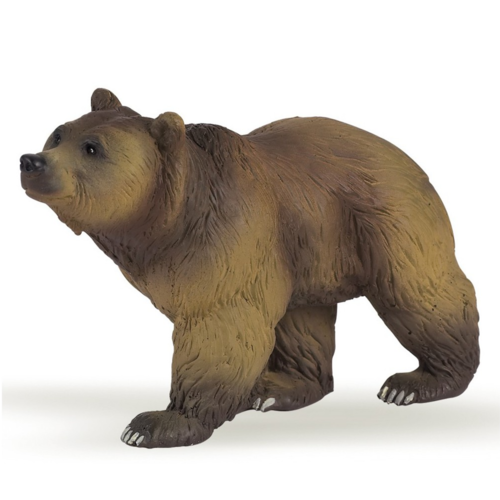 Papo Speelfiguur - Bosdier - Bruine beer