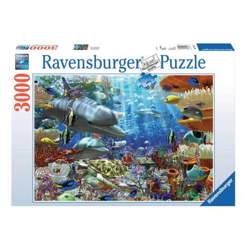 Ravensburger Puzzel - Leven onder water - 3000st.