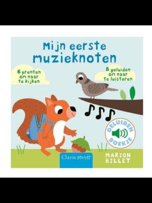 Clavis Boek - Mijn eerste muzieknoten - Met geluid